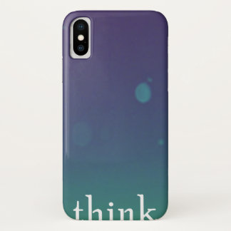 Remember  to THINK iPhone X Case