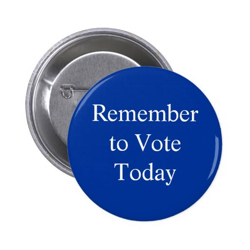 Remember to Vote Buttons
