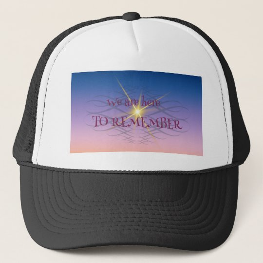 Remember Trucker Hat