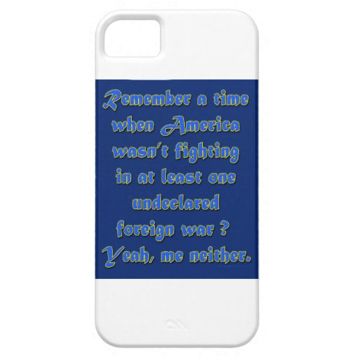 Remember When Foreign Wars iPhone 5 Case