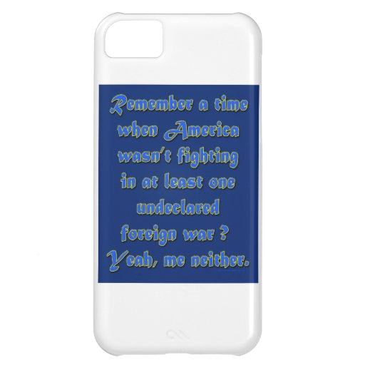 Remember When Foreign Wars iPhone 5C Cases