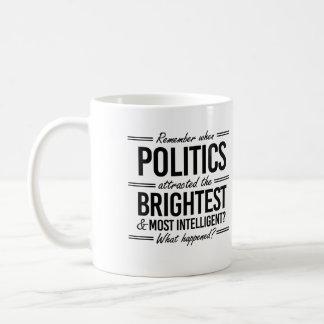 Remember When Politics Attracted the Brightest - W Coffee Mug