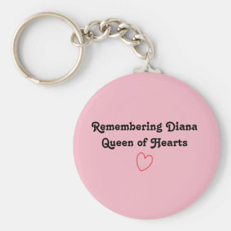 remembering Diana keychain