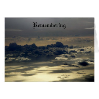 Remembering II Card