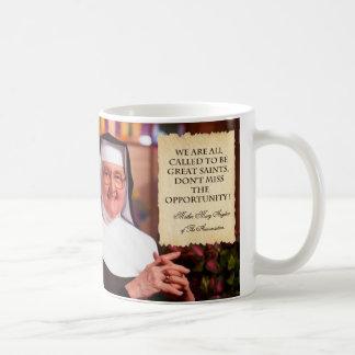 REMEMBERING MOTHER ANGELICA. COFFEE MUG