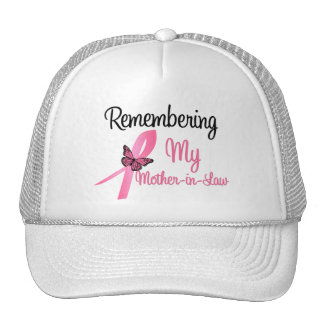 Remembering My Mother-in-Law - Breast Cancer Trucker Hat