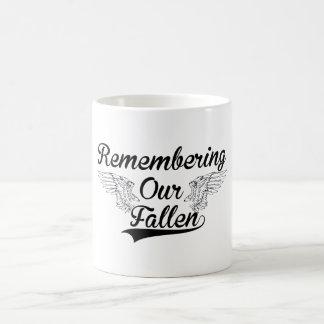 REMEMBERING OUR FALLEN COFFEE MUG