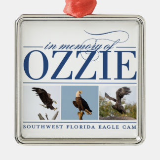 Remembering Ozzie Holiday Ornament