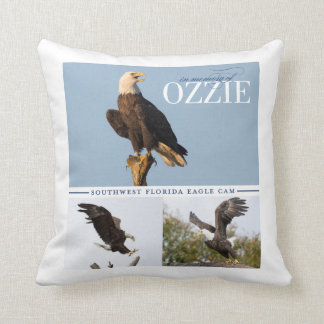 Remembering Ozzie Throw Pillow