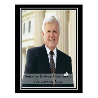 Remembering Ted Kennedy Postcard