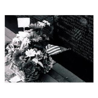 Remembrance At Vietnam Memorial Postcard
