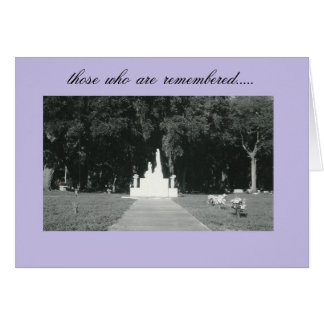 remembrance....by peacewillow card
