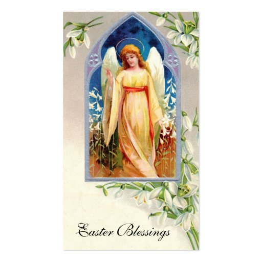 Remembrance Card: Easter Blessings Business Card Templates