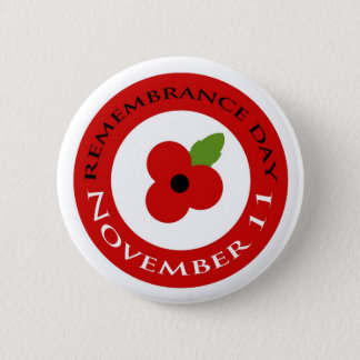 Remembrance Day - Badge 2 Inch Round Button