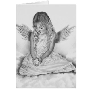 Remembrance Little Angel Card