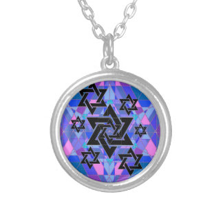 Remembrance of the Holocaust. Silver Plated Necklace