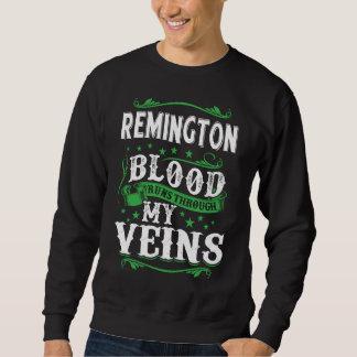 REMINGTON Blood Runs Through My Veius. T-shirt