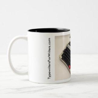 Remington Performer typewriter Two-Tone Coffee Mug