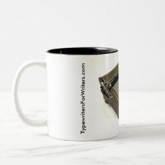 Remington Personal typewriter Two-Tone Coffee Mug