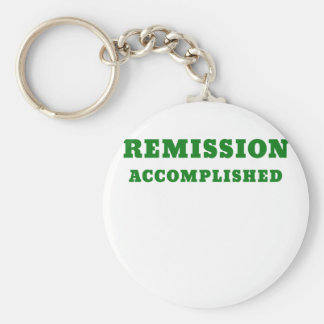 Remission Accomplished Basic Round Button Keychain