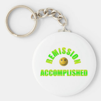 REMISSION ACCOMPLISHED KEY CHAINHAPPY FACE KEYCHAIN