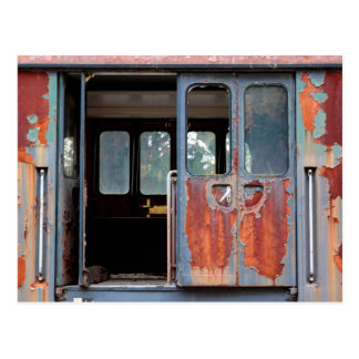Remnants in Rust Postcard