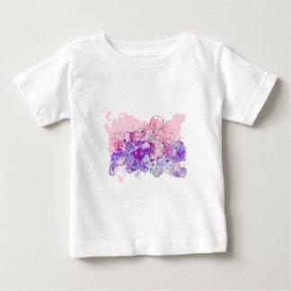 Remous 2 d'aquarelle t-shirt pour bébé