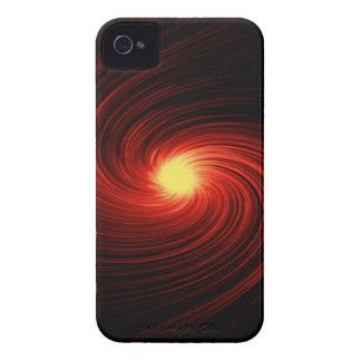 Remous d'abrégé sur rouge coques Case-Mate iPhone 4