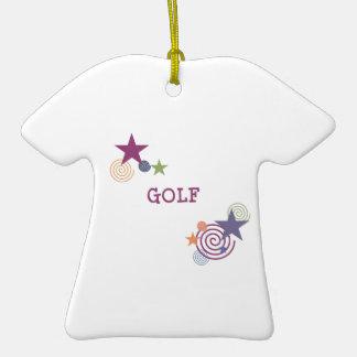 Remous de golf décoration de noël