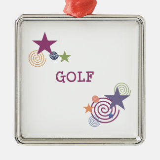 Remous de golf décoration pour sapin de noël