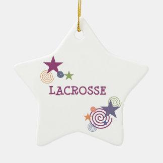 Remous de lacrosse ornement de noël