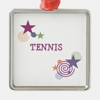 Remous de tennis décoration pour sapin de noël