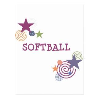 Remous du base-ball cartes postales