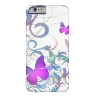 Remous élégant de papillon coque iPhone 6 barely there