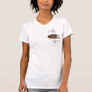Remous modernes faits sur commande de rayure de po t-shirts