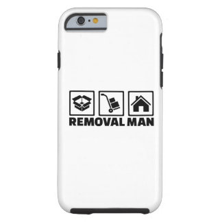 Removal man tough iPhone 6 case