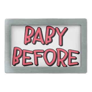 remove baby before washing, funny belt buckle