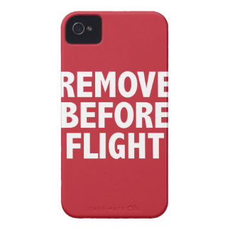 Remove Before Flight iPhone 4 Cases