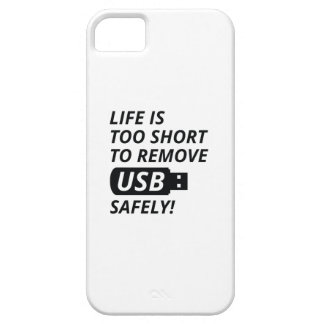 Remove USB Safely iPhone 5 Case