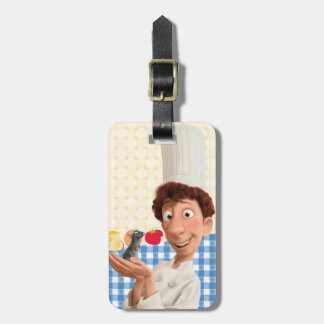 Remy and Linguine Luggage Tag