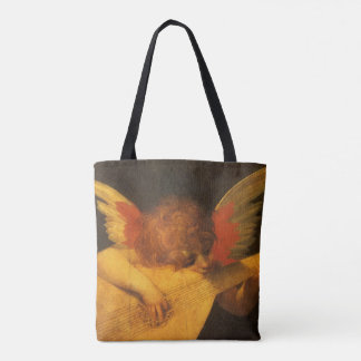 Renaissance Art Musician Angel by Rosso Fiorentino Tote Bag