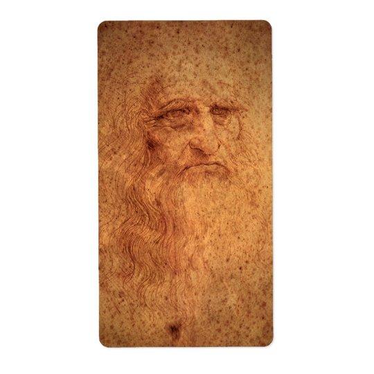 Renaissance Art Self Portrait by Leonardo da Vinci
