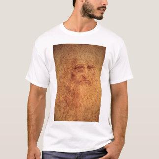 Renaissance Art Self Portrait by Leonardo da Vinci T-Shirt