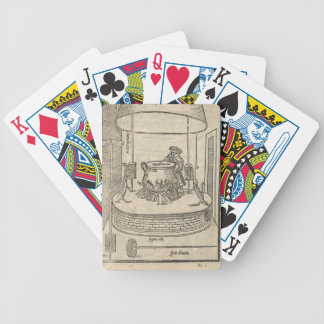 Renaissance cook bicycle playing cards