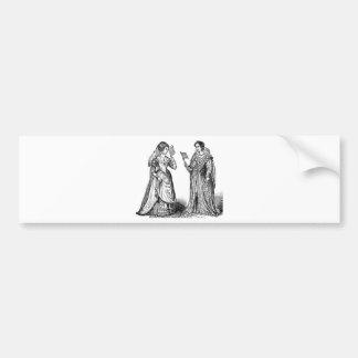 Renaissance Costumes Bumper Sticker