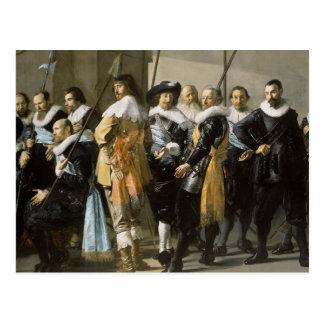 Renaissance Men Postcard