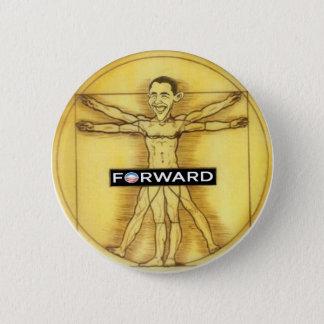 Renaissance Obama 2 Inch Round Button