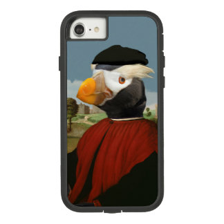 Renaissance Puffin - Anthropomorphic Tufted Puffin Case-Mate Tough Extreme iPhone 8/7 Case
