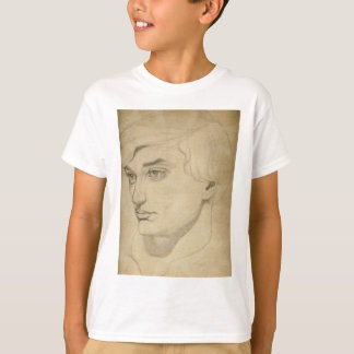 Renaissance-style drawing of a young man T-Shirt