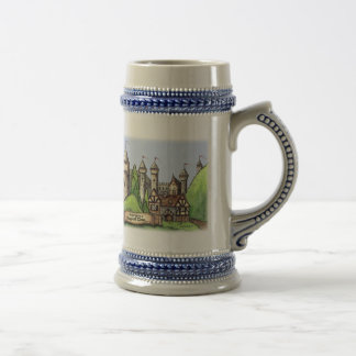 Renaissance Village Both Sides Beer Stein